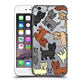 Head Case Designs Cairn Terrier Hunde Rassen Modelle 6 Ruckseite Hülle für Apple iPhone 6 / 6s