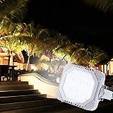 Lixada 80W 9200LM LED Sicherheitsbeleuchtung IP66 Wasserdicht für...