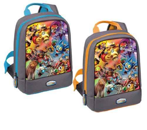 Skylanders Giants Mini sac à dos avec stylo pour projecteur Motif Epic Skies Orange