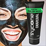 #5: TRYCONE CHARCOAL PEEL OFF MASK FOR INSTANT GLOW ( CHARCOAL FACE MASK, BLACKHEADS, WHITEHEADS AND TANNING REMOVER ) (Pack Of 1 Total : 50g.)