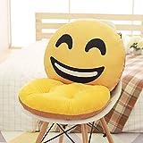 MAYUAN520 Kissen für Sofa Funny Emoji-Kissen mit Stuhl Kissen, Smiley, Kissen, Smile Kissen Home Decor, Büro Stuhl Sitzkissen, dekorativ Kissen 3 ha ha da xiao