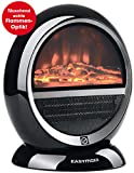 Chauffage cheminée design | électrique | noir moderne...