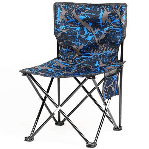 YUWJ Camping hocker Falten tragbare licht Camp hocker im freien billig tragbaren klappstuhl geeignet für Strand Grill Reise Picknick,A,medium