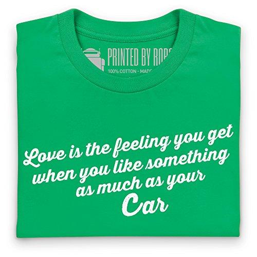 Love Your Car T-Shirt, Herren Keltisch-Grn