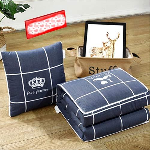 Kissen Quilt Auto Dual Use Cute Nap Decke Kissen Zurück Taille Durch Klimaanlage Kleine Quilt -