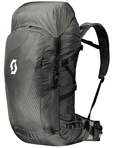 Scott Mountain 35, Zaino Unisex, Dark Grey/Burnt Orange, 65 x 28 x 20 cm, 35 L