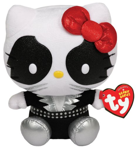 TY UK 6 Hello Kitty UK Kiss Catman Beanie (Hello Kitty Kostüme Uk)