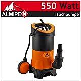 550W Pompa Sommersa per acqua sporca membrana Pompa acqua Pompa Fontana Pompa da giardino pompa 10.500L/H