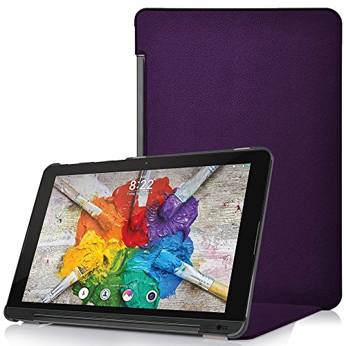 Forefront Cases® LG G Pad X II 10.1 Hülle Schutzhülle Tasche Case Cover Stand - Ultra Dünn & Leicht mit R&um-Geräteschutz (VIOLETT)
