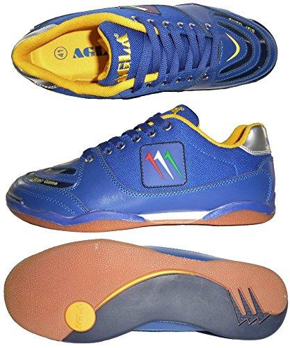 AGLA , Chaussures pour homme spécial foot en salle jaune jaune 27.5 Bleu