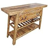 Kommode Schrank Sideboard Massiv Mango Holz Industrial Style Modern Trend Design