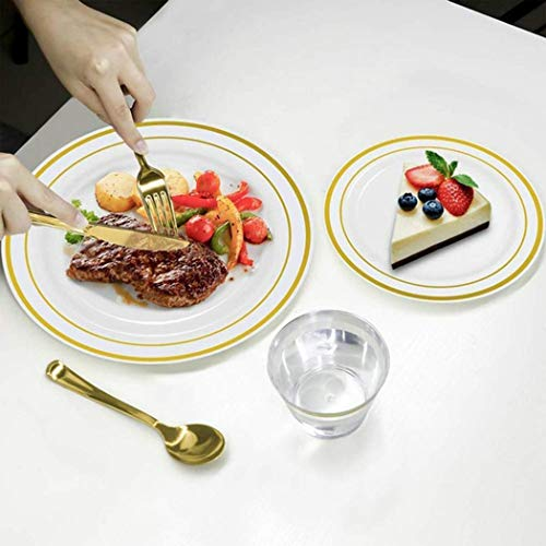 Disposable Plastic Dishes Round Plate