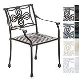 CLP Gartenstuhl SHAKTA im Jugendstil   Antiker Stuhl aus Aluminium erhältlich Bronze