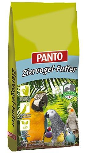 Panto Papageienfutter ohne Nüsse mit Pluramin 25 kg, 1er Pack (1 x 25 kg) -