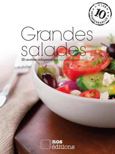 Grandes salades (Les indispensables t. 6) par Anne Cécile Odouard