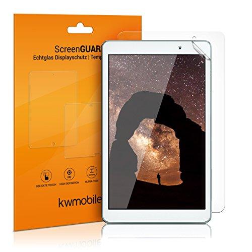 kwmobile 2X Huawei MediaPad T2 10.0 Pro Folie - Full Screen Tablet Schutzfolie für Huawei MediaPad T2 10.0 Pro klar