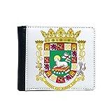 Best Rico portefeuille en cuir - DIYthinker Puerto Rico Emblème National Flip Bifold Faux Review