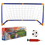 Best Football Goals - Inditake 118cm Children Football Goal Posts Sports Toys Review