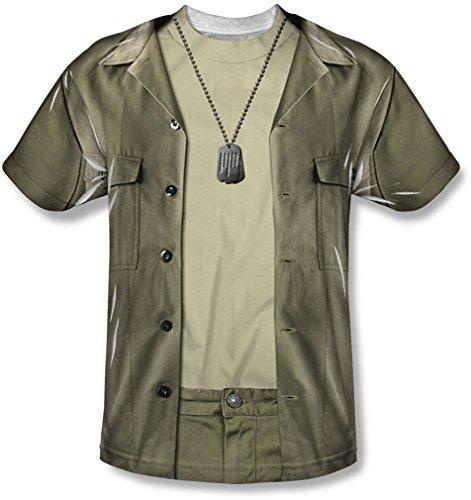 M*A*S*H - Jugend Hawkeye-Kostüm-T-Shirt, Medium, (Kostüm Hawkeye Medium)