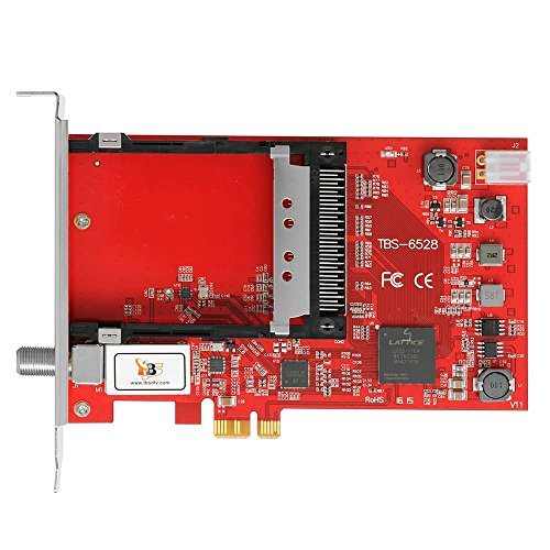 TBS-6528 DVB-Multi Standard DVB-S2 DVB-T2 DVB-C ISDB-TSingle-Tuner, PCIe HD TV-Karte mit CI, internal TV Tuner