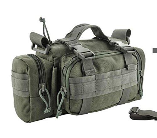 BULAGE Taschen Geldbörsen Taschen Mann Leinwand Natur Reisen Freizeit Brustbeutel Männer Abriebfest Kratzfest Tragbar Rucksack Tasche Gray
