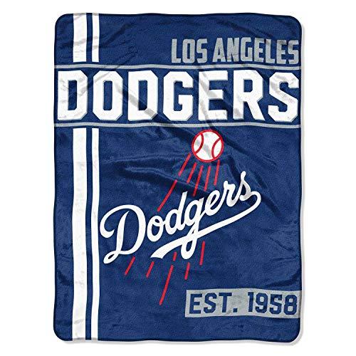Northwest Los Angeles Dodgers Super Plush MLB Decke (Baseball-decke)