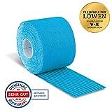 Aktimed Tape Plus - Nastro kinesio per kinesiologia, 5 m, colore: Azzurro
