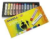 Unbekannt Jaxell 47650 Pastellkreiden, eckige Form, 12er Pack