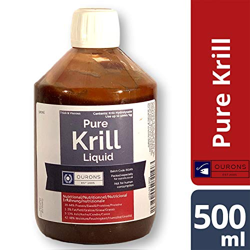 Ourons 500ml Pure Krill Liquid Fish Protein Hydrolysate For Fishing Baits