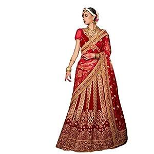bhartifashions_velvet_women_semi-stiched_Bridal lehenga_free-size_maroon