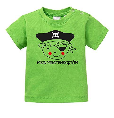 Mein Piratenkostüm - Alternative Piraten Kostümierung - Bio Baby T-Shirt (Sprüche Piraten Halloween)