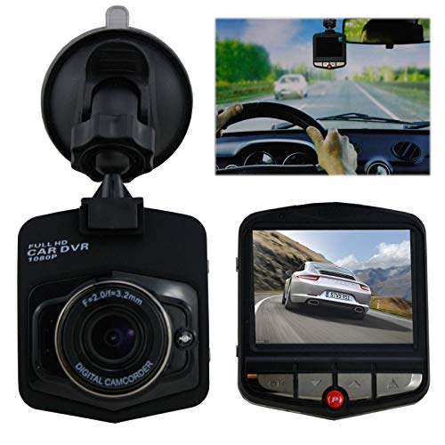 1080p Autokamera Full HD Dashcam Überwachungskamera Blackbox Carcam KFZ-Videokamera Zoom 2,5 In Lcd-usb