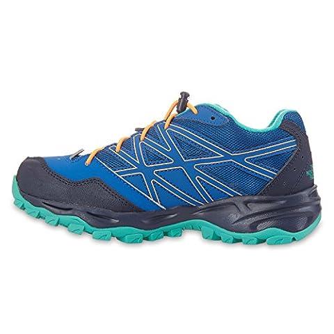 The North Face, Chaussures basses pour Garçon - multicolore - bleu/noir,