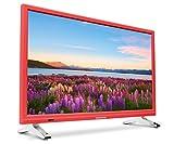 Medion Life P12501 MD 21501 54,6 cm (21,5 Zoll Full HD) Fernseher (LCD-TV mit LED-Backlight, Triple Tuner, DVB-T2 HD, HDMI, CI+, integrierter DVD-Player und Medienplayer) rot Test