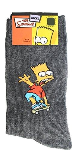Gelb und Schwarz Simpsons The 808735/Skateboard Lernen Bart