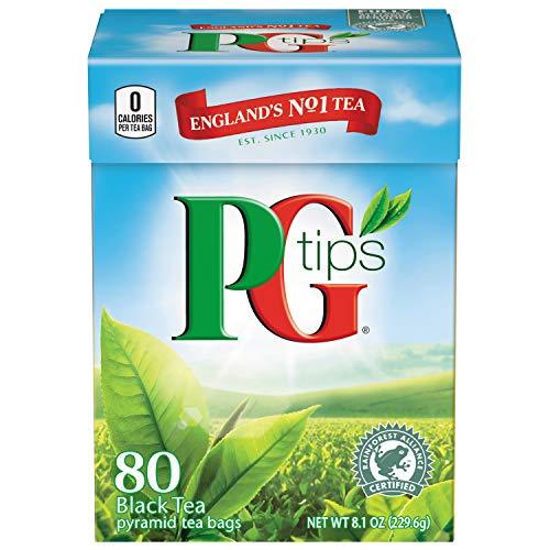 PG Tips Schwarztee beutel – Black Tea bags – 80 beutel