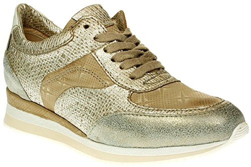 Mjus Zepper Sneaker - Beige/Oro, EU 37