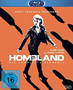 homeland season 7 blu ray claire danes. Black Bedroom Furniture Sets. Home Design Ideas