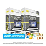 Microsoft® Windows 7 Professional (PRO) + Office PRO 2010. Original-Lizenz. 32 bit & 64 bit. Deutsch+ML. Audit Sicher, S2-ISO DVD, Lizenz. CLP Zertifikat. Refurbished