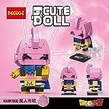 CuteDoll Figura de Majin buu bubuu Dragonball Dragon Ball Puzzle Juego Bloques de construccion...
