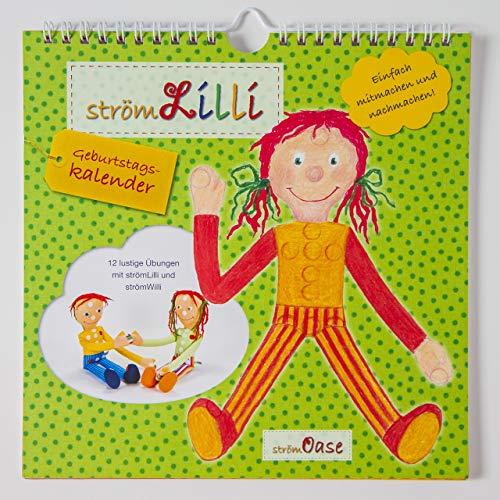 strömLilli Geburtstags - Kalender mit lustigen Übungen zum STRÖMEN und Entspannen
