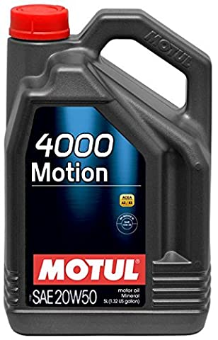 Moteur Huile de graissage 4000 MOTION 20W50 5L - 20w50 Olio