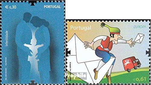 Portugal 3261,3283 (kompl.Ausg.) 2008 Unfruchtbarkeit, Europa (Briefmarken für Sammler)