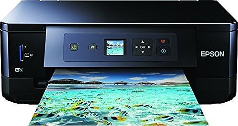 Epson Expression Premium XP-5403en 1Imprimante jet d'encre multifonction (imprimante, scanner, photocopieur, WiFi, duplex, cartouches individuelles) Noir