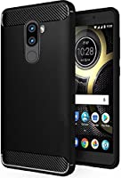 Chevron TPU Cover For Lenovo K8 Note - Metallic Black