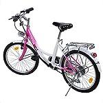 Ridgeyard-20-Pollici-Bicicletta-da-Bambina-Bici-Ragazzi-Ragazze-per-12-16-Anni-Children-BicycleRosa-Bianco