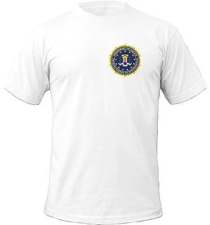 Tex-Ha FBI Veste /à capuche avec logo Kripo Bleu