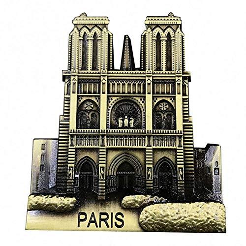 Abracing Notre Dame de Paris 3D Kühlschrankmagnet Craft France Tourist Souvenir Geschenk