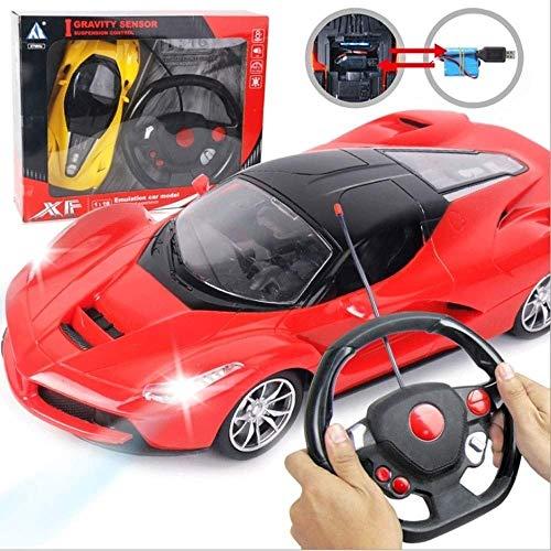 SSBH 2,4 GHz Elektronische Fernbedienung Aufladbare Drift Racing Hobby Spielzeug Fahrzeuge Mit Led-Scheinwerfer Rot Günstige Auto Spielzeug RC Speed   Racing Boy Racing Spielzeug Rot 1:18 Maßstab