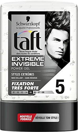 Taft - Gel Coiffant - Power Gel Extrême - Flacon 300 ml